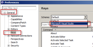 Set your scheme to Visual Studio